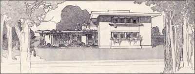 Frnak Lloyd Wright Fireproof House