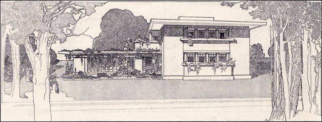 Frnak Lloyd Wright Fireproof House