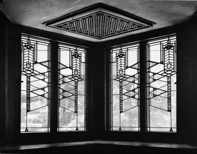 Robie House Art Glass WIndows by Frank LLoyd Wright