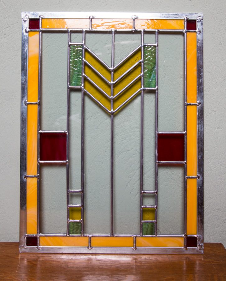 Prairie Style Glass Panel