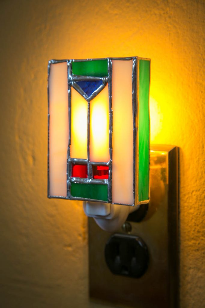 Frank Lloyd Wright Inspried Nightlight