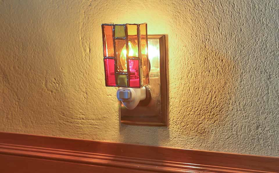 Stained Glass Nightlight