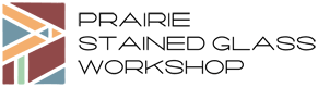 Prairie Stained Glass Workshop Retina Logo